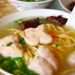 Pork Ball Noodle @ Wing Heng Seng Coffee Shop, Imbi