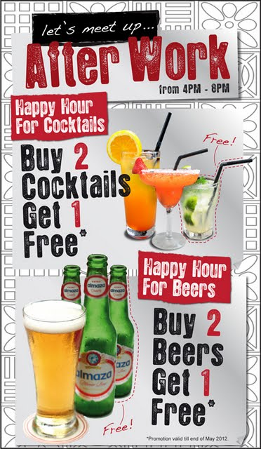 The Great Happy Hour Promotion