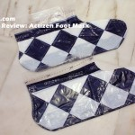 Product Review: Actizen Foot Mask