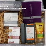 Product Review: Wonderbox March 2013 Edition