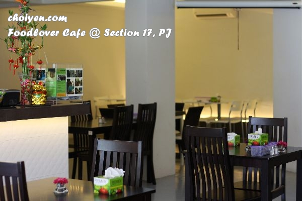 Foodlover Cafe @ Happy Mansion, Section 17, PJ