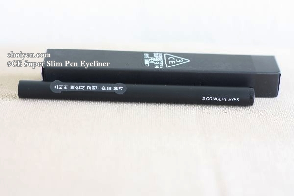 3CE Super Slim Pen Eyeliner #Black