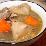 I cook: Arrowroot Pork Ribs Soup 粉葛排骨汤