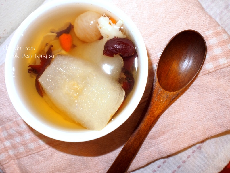 I cook: Pear Tong Sui