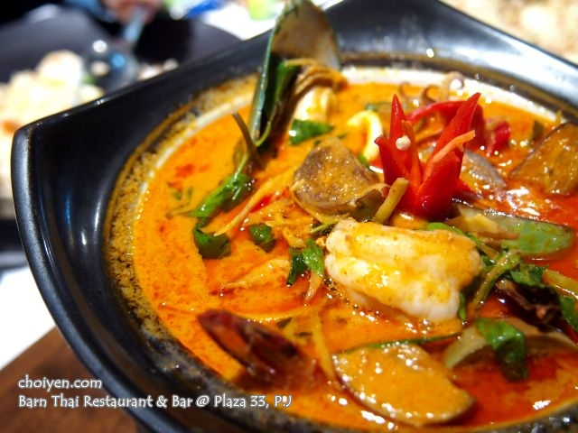 Mixed Seafood Red Curry (RM 38.00++)