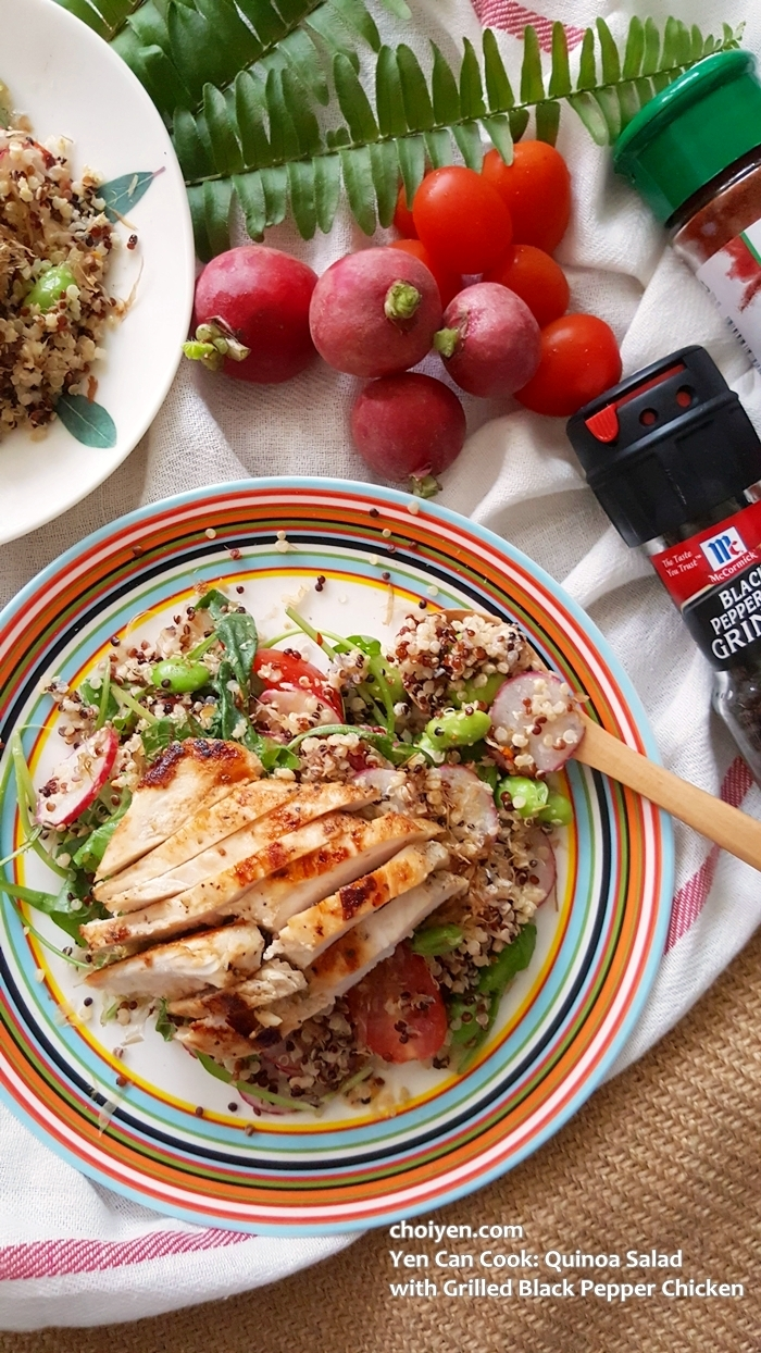 how to cook quinoa with chicken