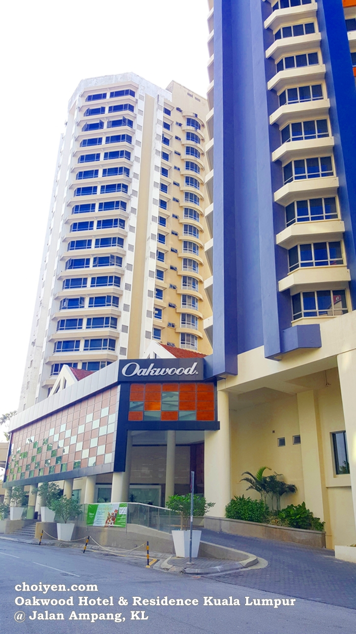 Located On A Quieter Side Of Jalan Ampang Kuala Lumpur Oakwood Hotel Residence Had Just Underwent Major Facelift Recently And Opened For